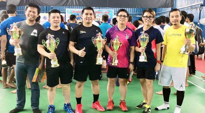 Champion – 2nd Mega Badminton Tournament of JBC