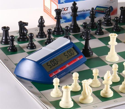 Chess Set with Clock