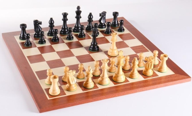 Wooden Chess Set #201