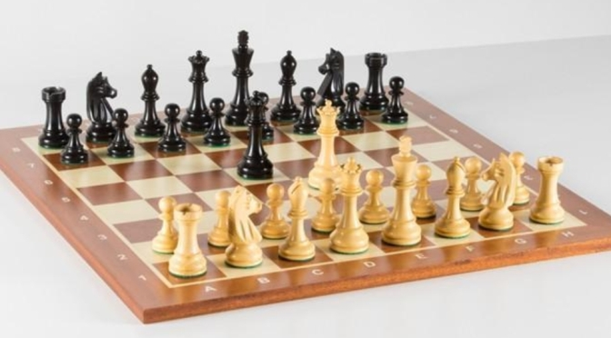 Wooden Chess Set #202